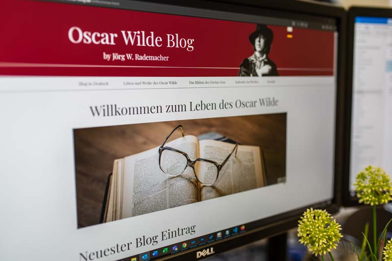 Referenz Oscar Wilde Blog